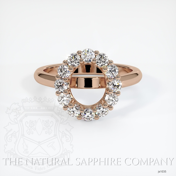 4 Prong Diamond Cluster Ring JS1035 Image 2
