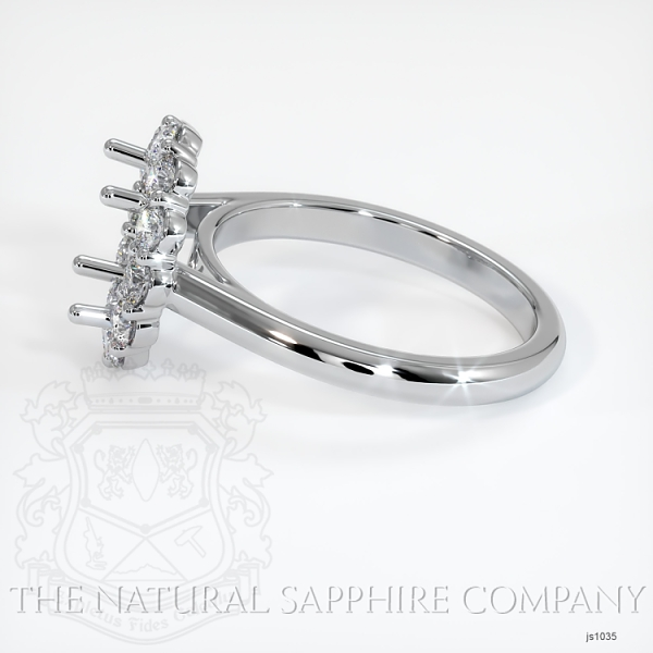4 Prong Diamond Cluster Ring JS1035 Image 3