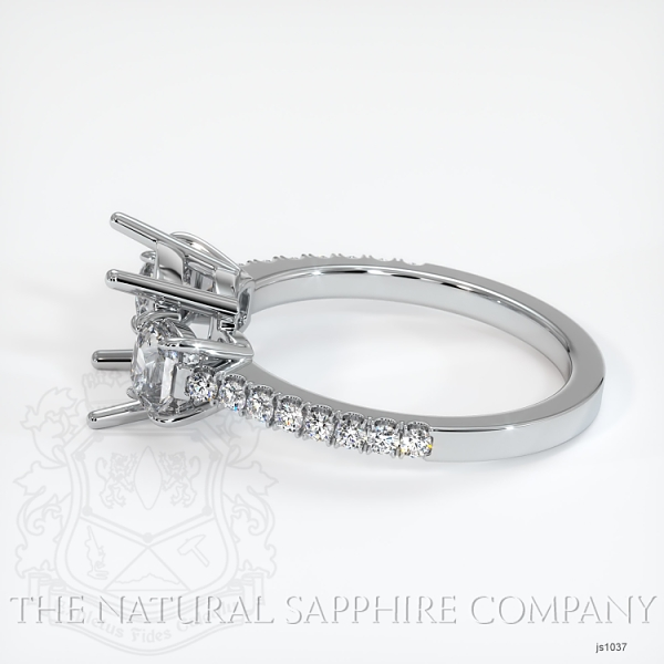 4 Prong Multi Stone Ring Setting JS1037 Image 3