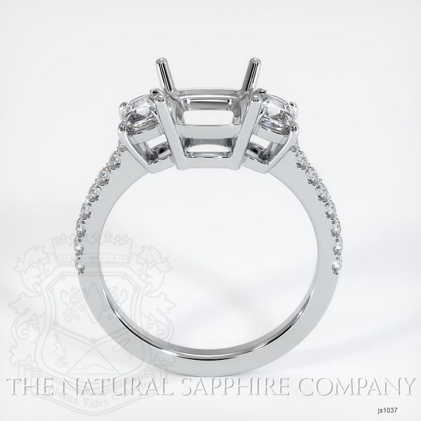 4 Prong Multi Stone Ring Setting JS1037 Image 4