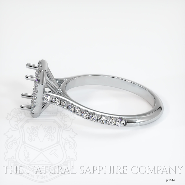 Pave Diamond Halo Ring Setting JS1044 Image 3
