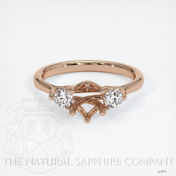 6 Prong Multi Stone Ring Setting JS1075 Image 2
