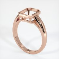 14K Rose Gold Ring Setting - JS109R14
