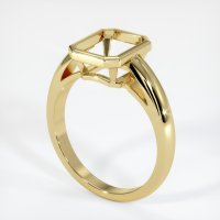 18K Yellow Gold Ring Setting - JS109Y18