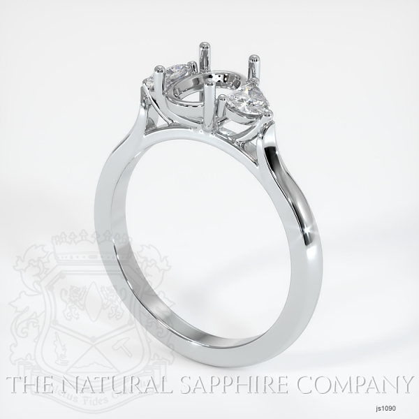 4 Prong Multi Stone Ring Setting JS1090 Image
