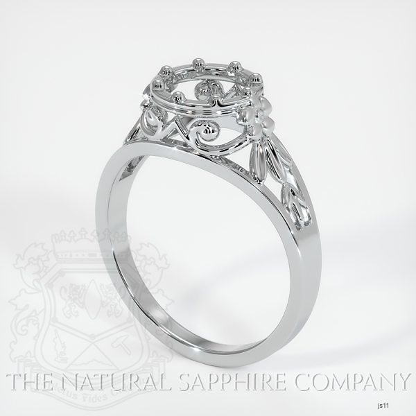 Antique Style Solitaire Ring Setting JS11 Image