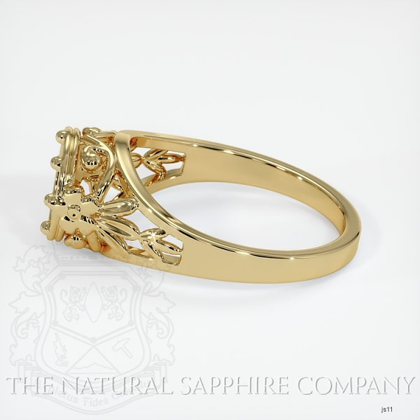 Antique Style Solitaire Ring Setting JS11 Image 3
