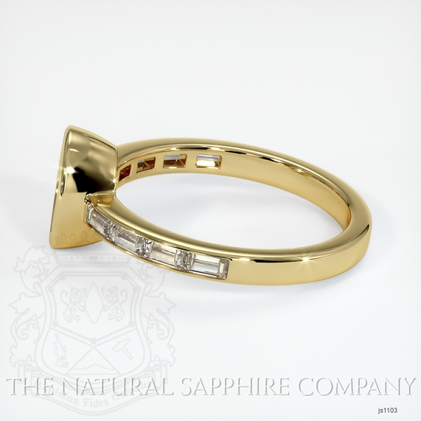 Bezel Setting - Baguette Diamond Band JS1103 Image 3