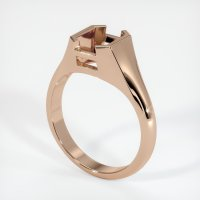 18K Rose Gold Ring Setting - JS1105R18