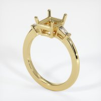 18K Yellow Gold Ring Setting - JS1106Y18