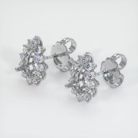 Platinum 950 Earring Setting - JS1136PT