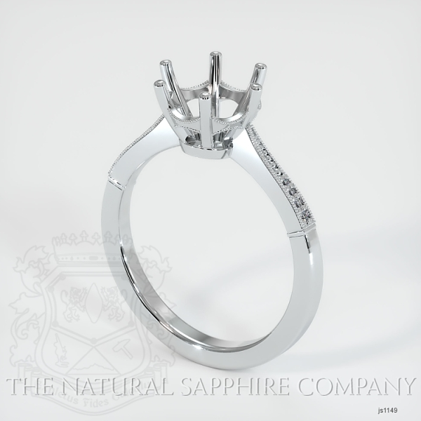Vintage Solitaire Ring Setting JS1149 Image