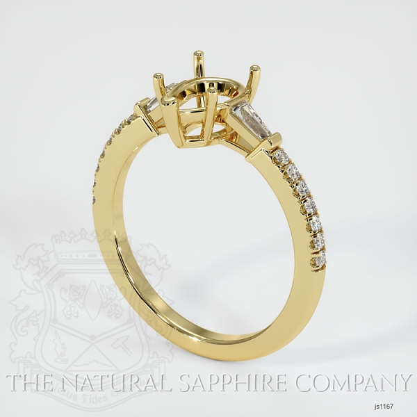 5 Prong Multi Stone Ring Setting JS1167 Image