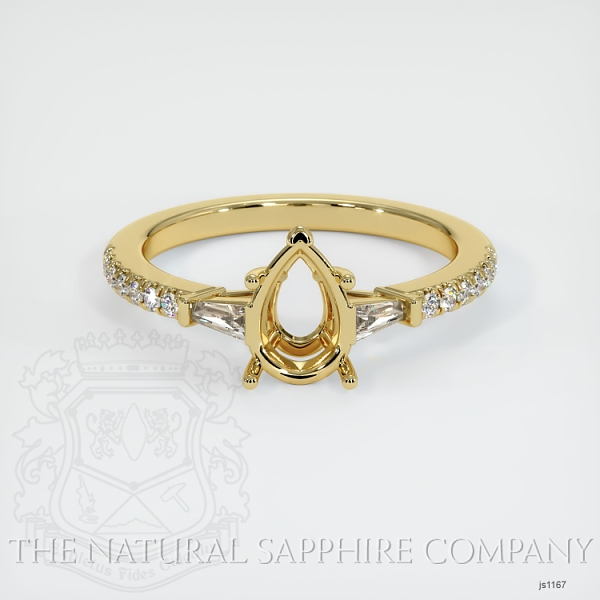 5 Prong Multi Stone Ring Setting JS1167 Image 2