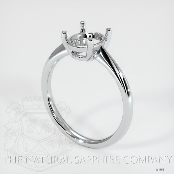 4 Prong Solitaire Ring Setting JS1169 Image