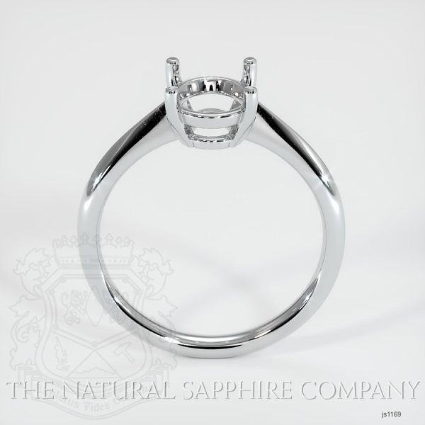 4 Prong Solitaire Ring Setting JS1169 Image 4