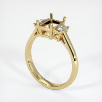 14K Yellow Gold Ring Setting - JS117Y14