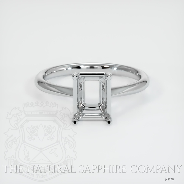 4 Prong Solitaire Ring Setting JS1170 Image 2