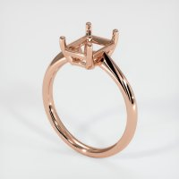 14K Rose Gold Ring Setting - JS1170R14
