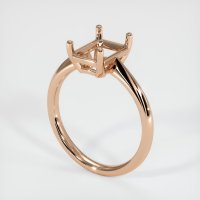 18K Rose Gold Ring Setting - JS1170R18