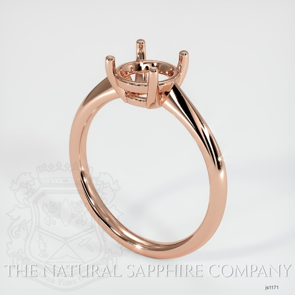 4 Prong Solitaire Ring Setting JS1171 Image 4