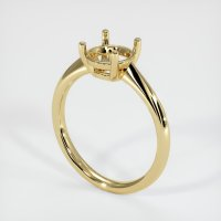 14K Yellow Gold Ring Setting - JS1171Y14