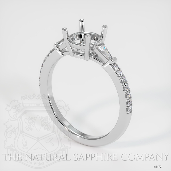 5 Prong Multi Stone Ring Setting JS1172 Image