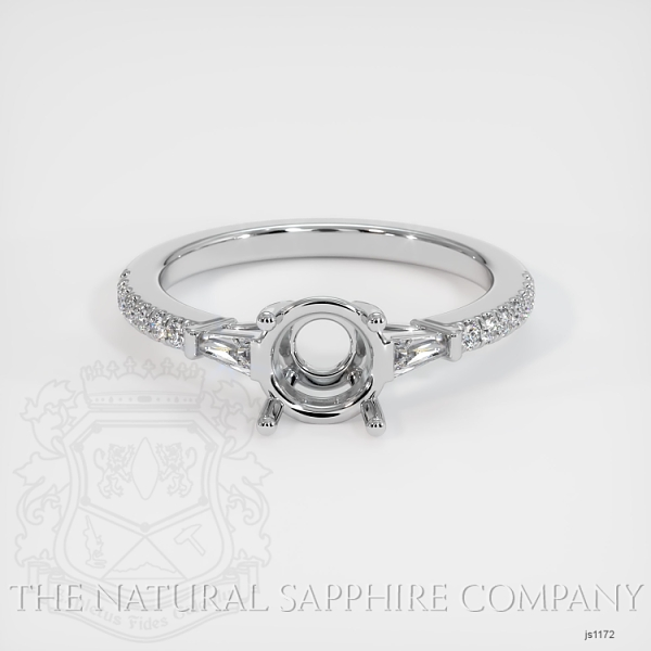 5 Prong Multi Stone Ring Setting JS1172 Image 2