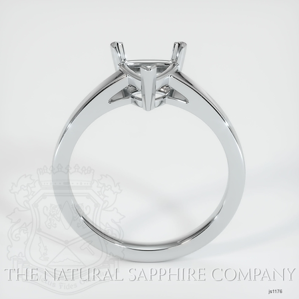 3 Prong Solitaire Ring Setting JS1176 Image 3