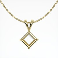 14K Yellow Gold Pendant Setting - JS141Y14