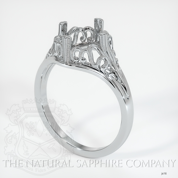 Antique Solitaire Ring Setting JS16 Image