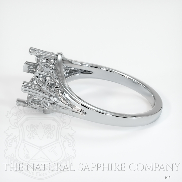 Antique Solitaire Ring Setting JS16 Image 3