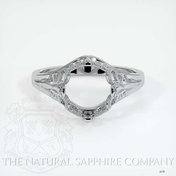 Antique Solitaire Ring Setting JS16 Image 2