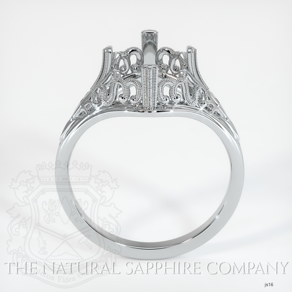 Antique Solitaire Ring Setting JS16 Image 4