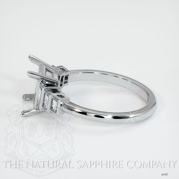 4 Prong Multi Stone Ring Setting JS167 Image 3