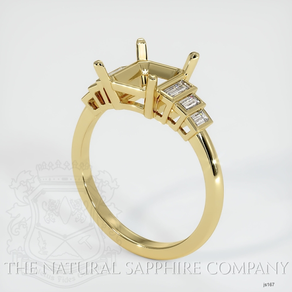4 Prong Multi Stone Ring Setting JS167 Image