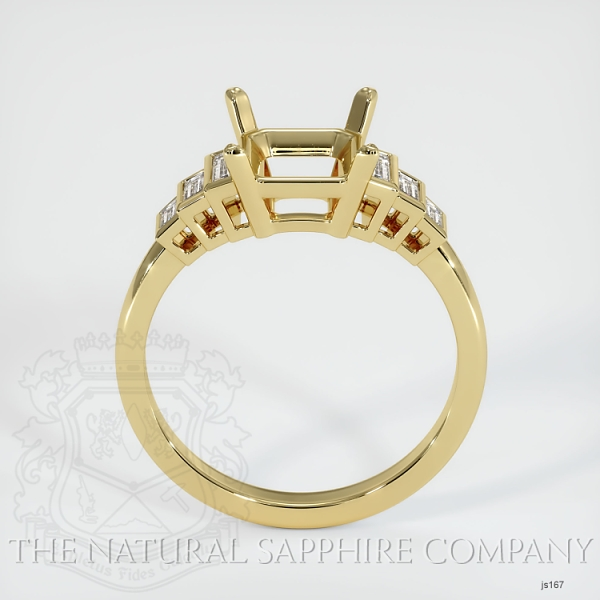 4 Prong Multi Stone Ring Setting JS167 Image 4
