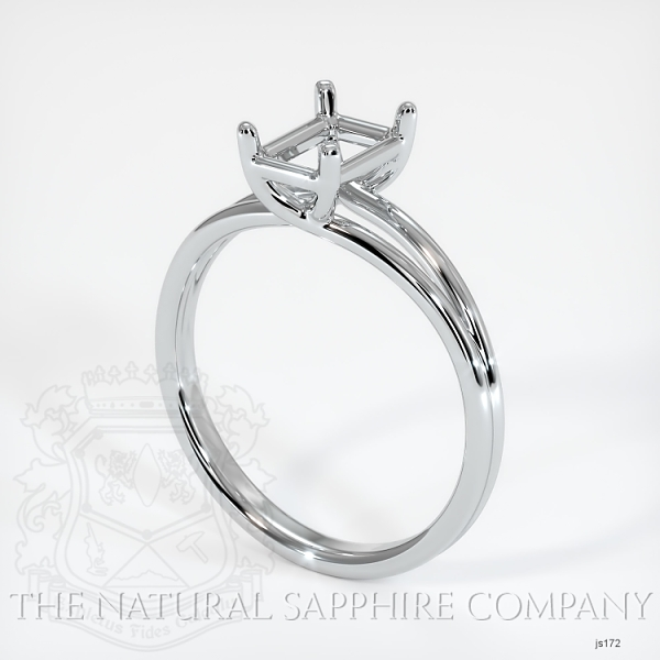 4 Prong Split Shank Solitaire Ring JS172 Image