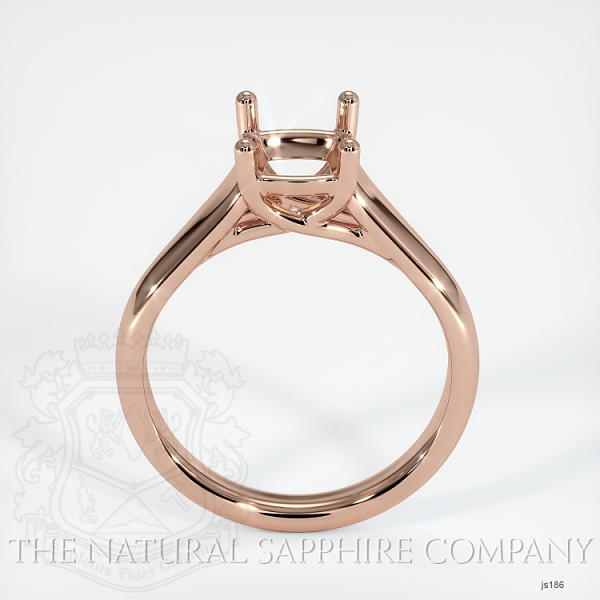 4 Prong Solitaire Trellis Setting - Wide Band JS186 Image 4