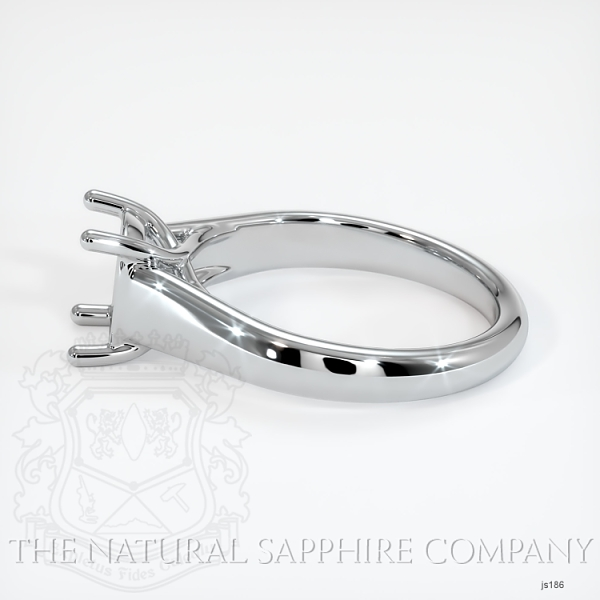 4 Prong Solitaire Trellis Setting - Wide Band JS186 Image 3