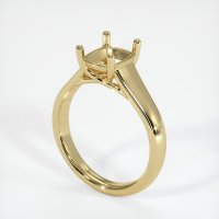 14K Yellow Gold Ring Setting - JS186Y14