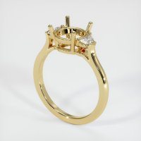 14K Yellow Gold Ring Setting - JS205Y14