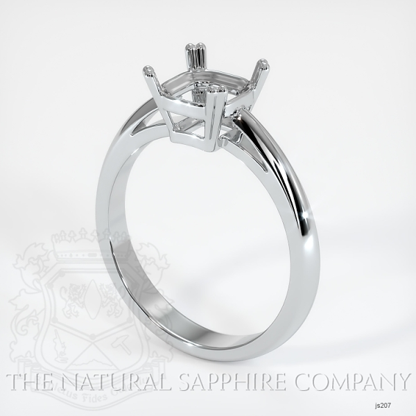 Double Prong Cathedral Solitaire Ring Setting JS207 Image