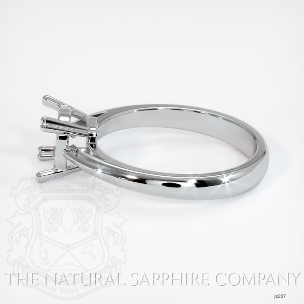 Double Prong Cathedral Solitaire Ring Setting JS207 Image 3