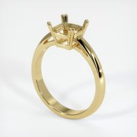 18K Yellow Gold Ring Setting - JS207Y18