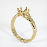 14K Yellow Gold Ring Setting - JS23Y14