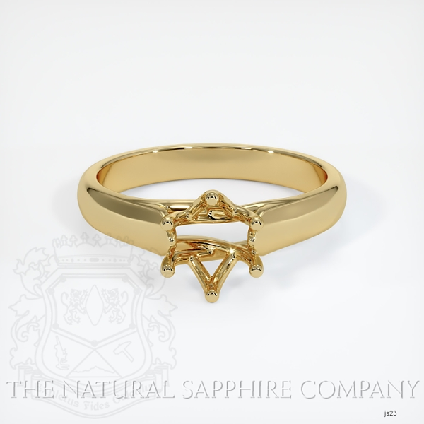 6 Prong Trellis Solitaire Ring Setting JS23 Image 2