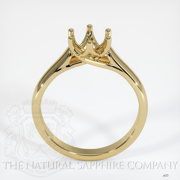 6 Prong Trellis Solitaire Ring Setting JS23 Image 4