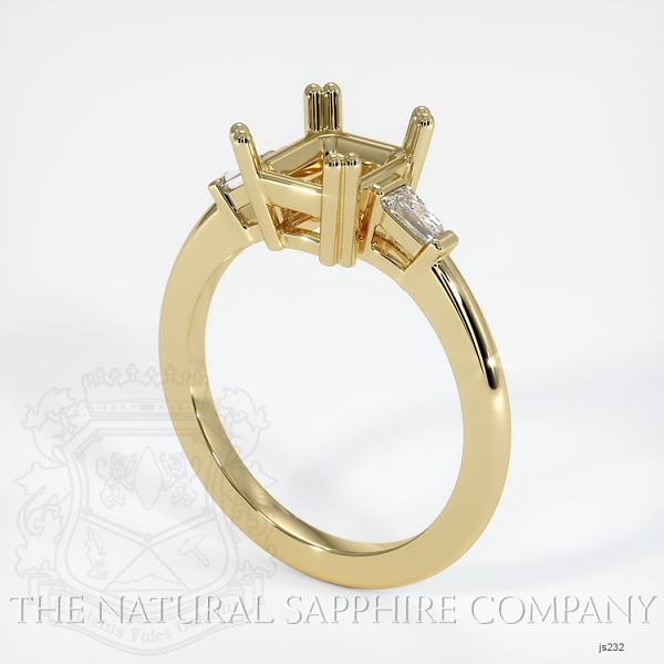 Split Prongs Multi Stone Ring Setting JS232 Image