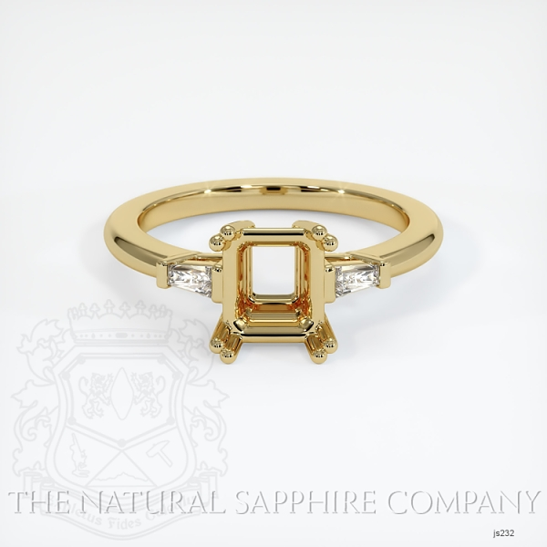 Split Prongs Multi Stone Ring Setting JS232 Image 2